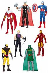 Avengers Assemble Titan Hero Series Actionfiguren 30 cm 2014 Wav
