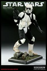 Sideshow STAR WARS Scout Trooper Premium Format Exclusive