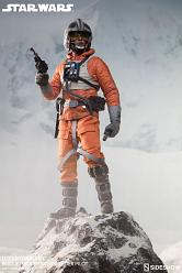 Star Wars Actionfigur 1/6 Luke Skywalker Rogue Group Snowspeeder