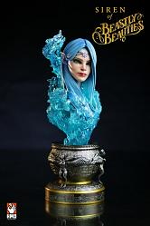 BEASTLY BEAUTIES: SIREN 1/2 SCALE BUST