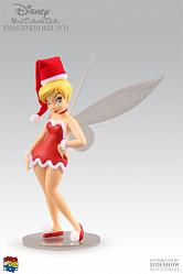 Holiday Tinkerbell VCD figure