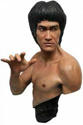 Bruce Lee Büste 1/1 Traditional Black Version 74 cm