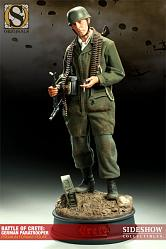 Battle of Crete: German Paratrooper 1:4 Premium Format Figure