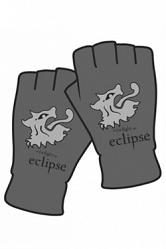 Twilight Eclipse Handschuhe (Fingerlos) Lions Head