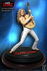 Rock Iconz: Ted Nugent Statue