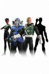 Green Lantern Serie 5 Actionfiguren Set 17 cm (4)