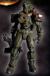 Halo Reach Play Arts Kai Vol. 2 Actionfigur Jorge 23 cm