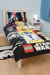 Lego Star Wars Bettwäsche Bricks 135 x 200 cm