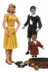 Munsters Select Actionfiguren Doppelpack Eddie & Marylin 18 cm