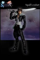 Dissidia Final Fantasy Play Arts Kai Vol. 1 Actionfigur Squall L