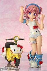 Hello Kitty to Issho Block Crash 123 PVC Statue Shizuku Minase 1