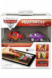 Cars 2 AppMATes-Figur Twin Pack McQueen & Holley