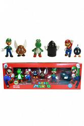 Super Mario Bros. Serie 1 Vinylfiguren Box Set 6 cm
