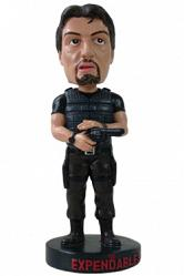 The Expendables Wackelkopf-Figur Barney Ross 20 cm