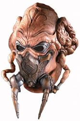 Star Wars Latex-Maske Plo Koon