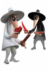 MAD Vinyl Figuren Doppelpack Spy vs Spy 23 cm