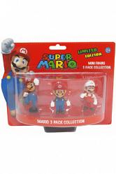 Super Mario Bros. Geschenkbox mit 3 Figuren Mario Edition 6 cm