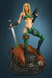 Heavy Metal Statue 1/4 Alien Marine Girl 54 cm
