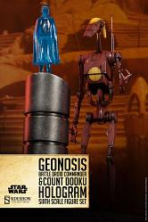 Star Wars Actionfigur 1/6 Geonosis Commander Battle Droid & Coun