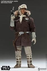Star Wars Actionfigur 1/6 Captain Han Solo Hoth 30 cm
