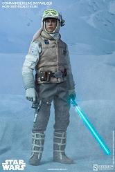 Star Wars Actionfigur 1/6 Commander Luke Skywalker Hoth 30 cm