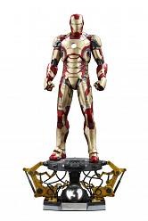 Iron Man 3 QS Series Actionfigur 1/4 Iron Man Mark XLII Deluxe V