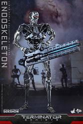 Terminator Genisys Movie Masterpiece Actionfigur 1/6 Endoskelett