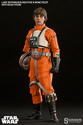 Star Wars Actionfigur 1/6 Luke Skywalker Red Five X-wing Pilot 3