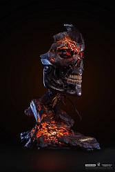 Terminator 2: T-800 Battle Damaged 1:1 Scale Art Mask Statue