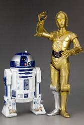 Star Wars: C-3PO & R2-D2 Art FX Statue