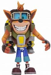Crash Bandicoot: Deluxe Crash with Jetpack - 7 inch Scale Figure