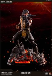 Mortal Kombat X: Regular Scorpion 1:4 scale Statue