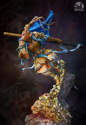 Myth Series: Blue Monkey King 1:4 Scale Statue