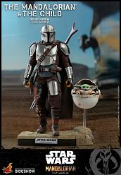 Star Wars: Deluxe The Mandalorian and The Child 1:6 Scale Figure
