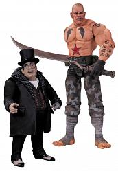 Batman Arkham City Actionfiguren Doppelpack Sickle & Penguin 17