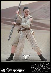 Star Wars The Force Awakens: Rey 1:6 scale figure