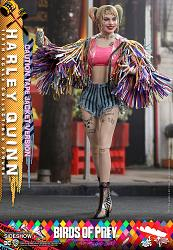 DC Comics: Birds of Prey - Harley Quinn Caution Tape Jacket 1:6