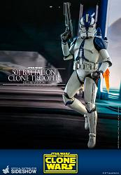 Star Wars: The Clone Wars - Deluxe 501st Battalion Clone Trooper
