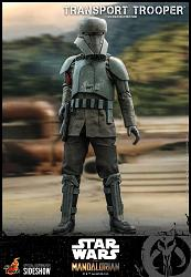 Star Wars: The Mandalorian - Transport Trooper 1:6 Scale Figure