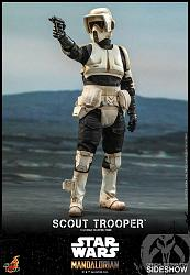 Star Wars: The Mandalorian - Scout Trooper 1:6 Scale Figure