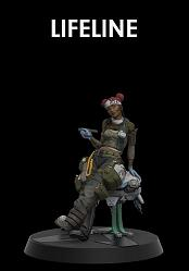 Apex Legends: Figures of Fandom - Lifeline 9 inch PVC Statue