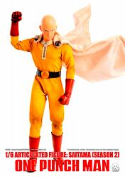 One-Punch Man: Deluxe Saitama Season 2 - 1:6 Scale Action Figure