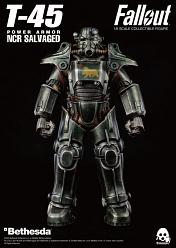 Fallout: T-45 NCR Salvaged Power Armor 1:6 Scale Figure