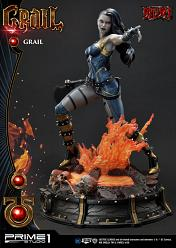 DC Comics: Deluxe Grail Statue by Jason Fabok
