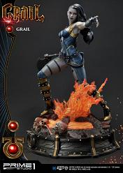DC Comics: Grail Statue by Jason Fabok