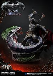 DC Comics: Dark Knights Metal - Deluxe Batman vs Joker Dragon St