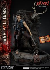 Evil Dead 2: Dead by Dawn - Exclusive Ash Williams 1:3 Scale Sta