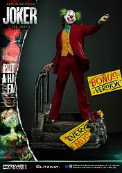 DC Comics: Joker Movie - The Joker Bonus Version 1:3 Scale Statu