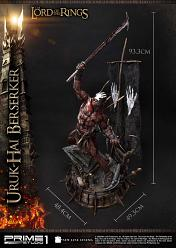 Lord of the Rings: Uruk-hai Berserker 1:4 Scale Statue