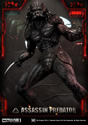 The Predator 2018: Deluxe Assassin Predator 1:4 Scale Statue